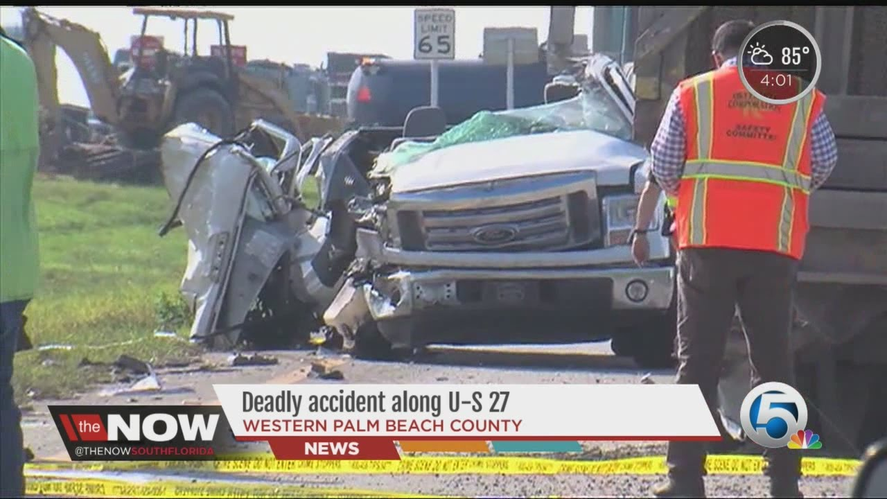 Deadly accident along U-S 27