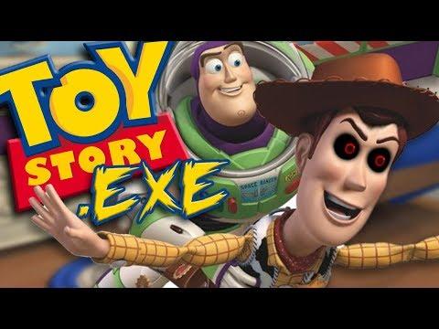 EVIL WOODY KILLS BUZZ LIGHTYEAR | Toy Story.exe