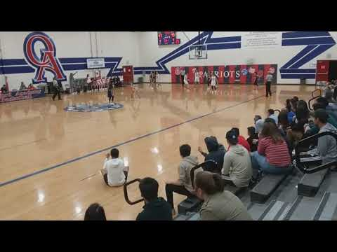 DeLasalle vs Oxford Acad - 4th Quarter following timeout (2/21/18)
