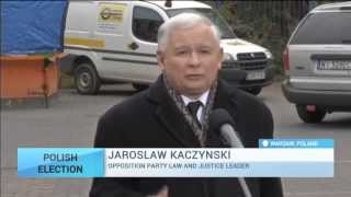 Polish Elections: Main opposition party is tipped to win parliamentary poll