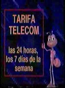 Telecom 09 y 009, Campaña hormiguitas