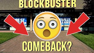 How To Save Blockbuster - Here is How Blockbuster Can Make a Come Back