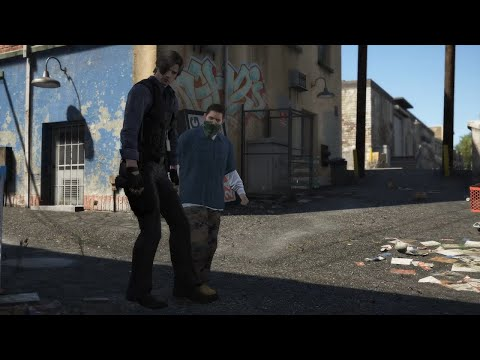 GTA 5 - Modded Cutscenes - Resident Evil Edition