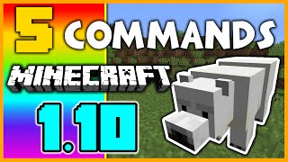 5 Awesome Minecraft 1.10 Commands