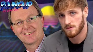 Logan Paul FLAT EARTH DOKU - Axel Voss ist alles EGAL?-  Snapchat macht jetzt GAMING! - RoundUp