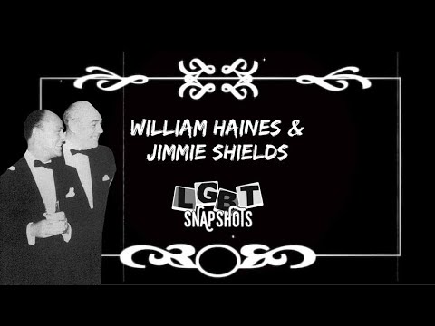 LGBT Snapshots: William Haines & Jimmie Shields