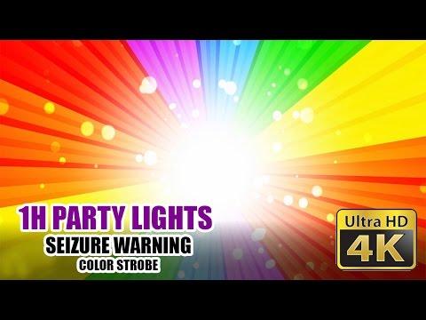BEST DISCO Party Light - Strobe Effect 4K!!! [SEIZURE WARNING]