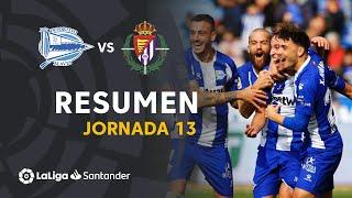 Resumen de Deportivo Alavés vs Real Valladolid (3-0)