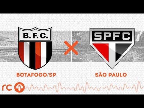 AO VIVO - Botafogo-SP x São Paulo - 08/03/2020 - Campeonato Paulista - Futebol RC