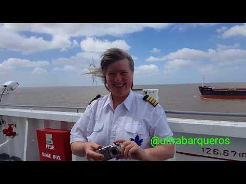 "General Cargo Ship ""BBC MAPLE LEA"" #PuntaIndioChannel #RioDeLaPlata #Argentina 24th. November 2017.-"