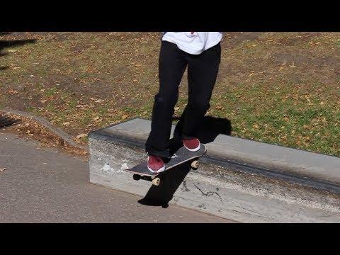Bs Tailslide - Trick Tipp (Backside Tailslide)