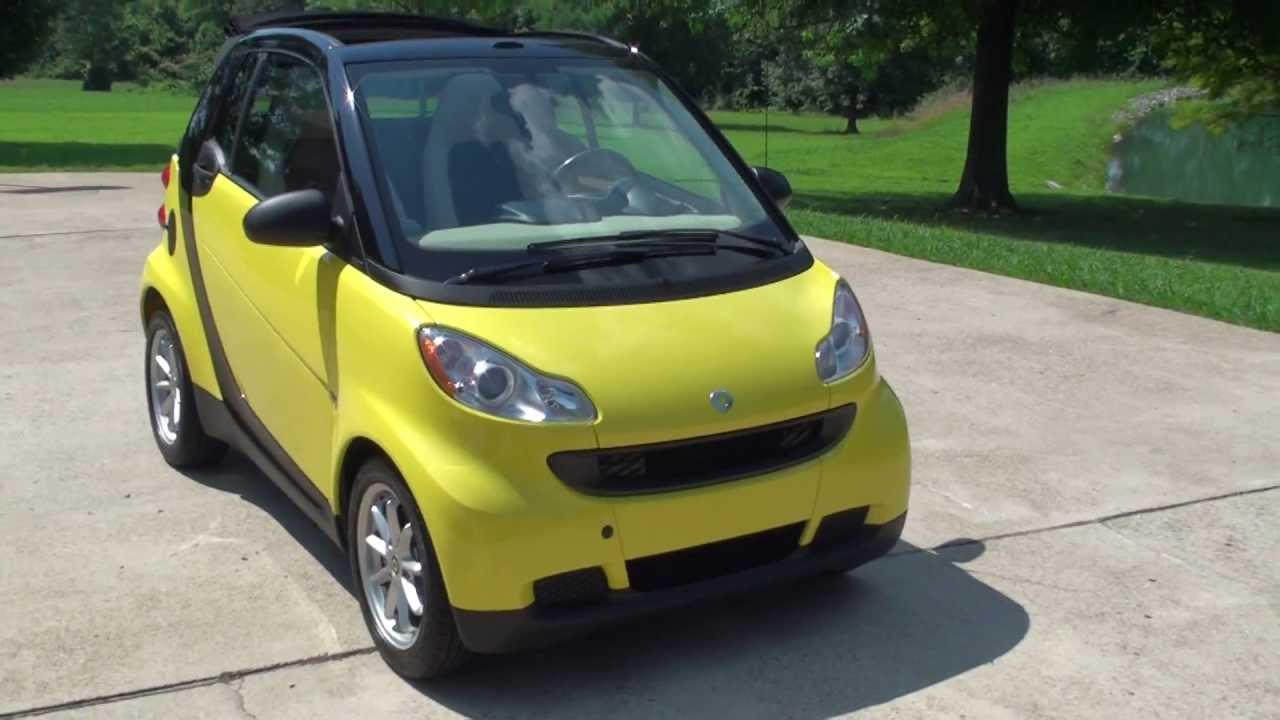 hd video 2008 smart passion car cabriolet convertible used for sale see www sunsetmilan com. Black Bedroom Furniture Sets. Home Design Ideas