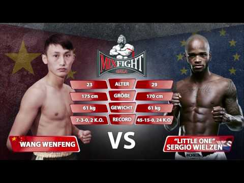 Sergio Wielzen vs Wang Wenfeng | Mix Fight Gala 20