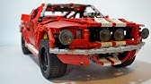 Lego Technic Rc 2014 Ford Mustang Shelby Gt 500 Youtube