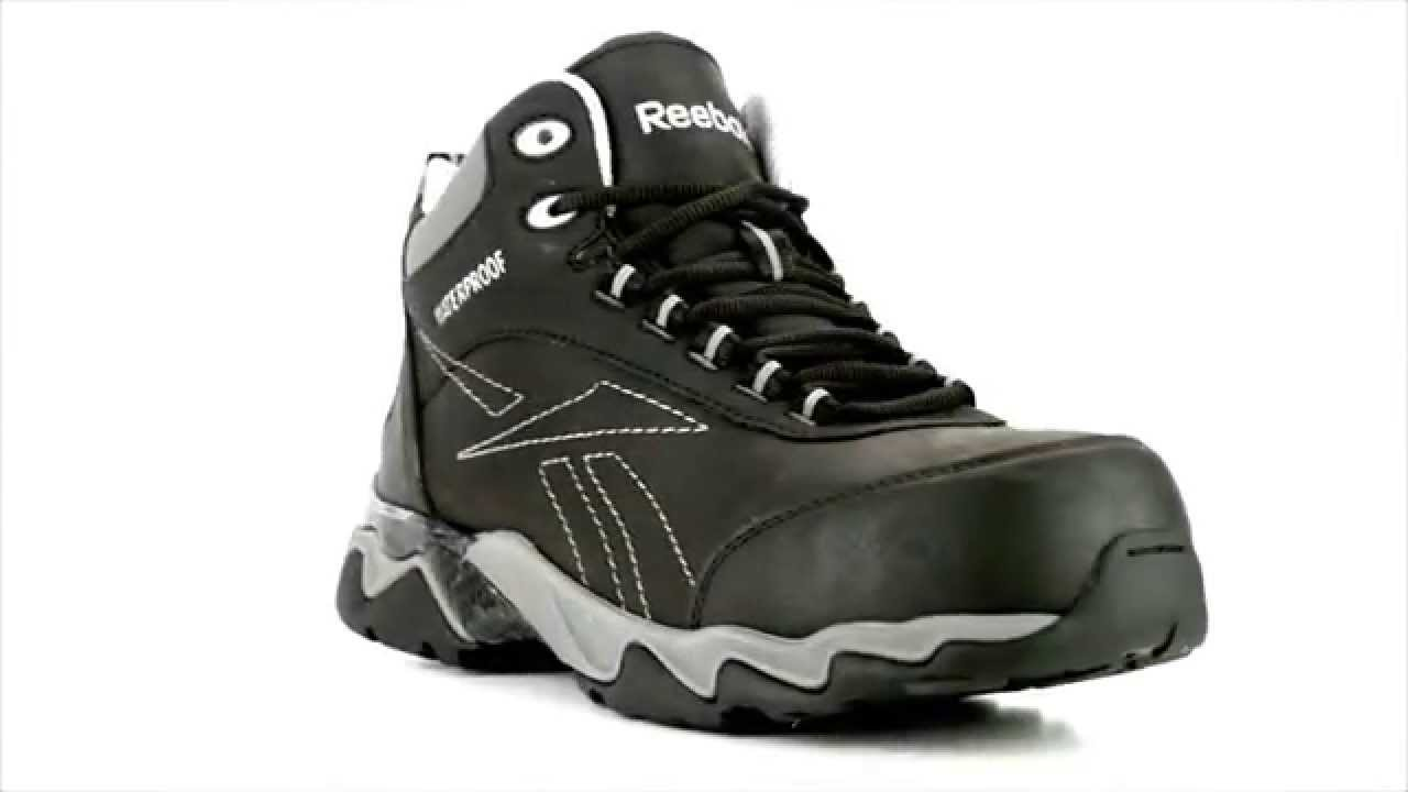 Mens Reebok RB1068 Beamer Composite Toe Waterproof Metal Free Hiker Work  Boot @ Steel-Toe-Shoes.com - YouTube