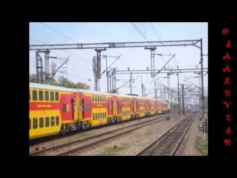 22626 Bangalore City - Chennai Central AC Double Decker Express [TRIAL RUN]