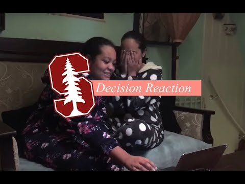 STANFORD ACCEPTANCE REACTION!!