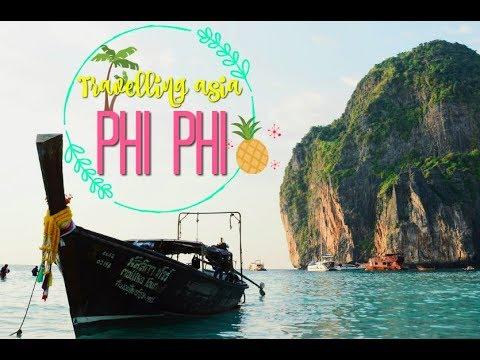 🌏  Travelling asia | PHI PHI ISLANDS🌄  |Johanna Lind