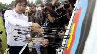London 2012 Olympic: Im Dong-Hyun: Blind South Korean Archer Breaks Own World Record at Olympics