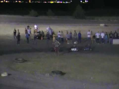 Part 1 of 4 Brennan Riley South Texas Speedway May 24 2009 Feature Go Kart Race
