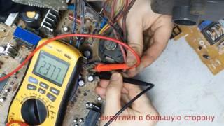 телевизор LG RT-21FB20RQ (шасси MC-019A) не включается +ремонт тдкс