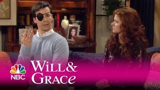 Will & Grace - Jack Unveils His Eyebrow Tragedy (Highlight)