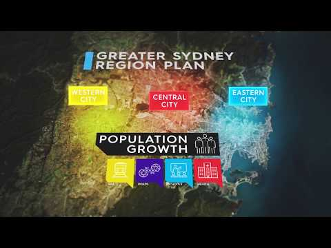A Metropolis of Three Cities - the Greater Sydney Region Plan