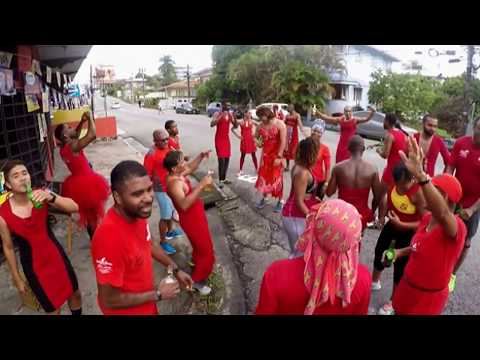 Port of Spain Hash House Harriers - RED DRESS CHARITY AND PUB CRAWL RUN