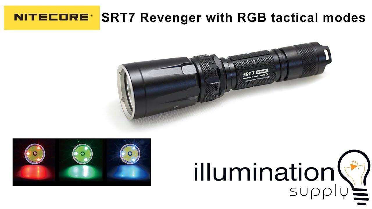 Illumination Supply Nitecore Srt7 Revenger First Look