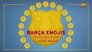 Fc barcelona emoji challenge -