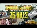 Shroud and Chad | 26 Kills | PUBG (With Mk47 Mutant)