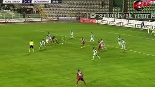 Giresunspor 2 0 Gaziantepspor Maç Özeti