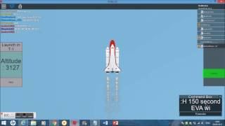 STS-150 - STS-Ambition - ROBLOX NASA Mission