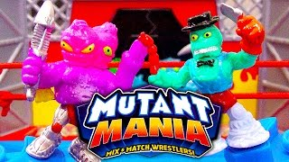 Mutant Mania Rampage Arena Mix & Match Wrestlers Mega Fighting Toy Review