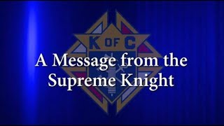 2020 Org meeting 3 Messages Supreme Knight