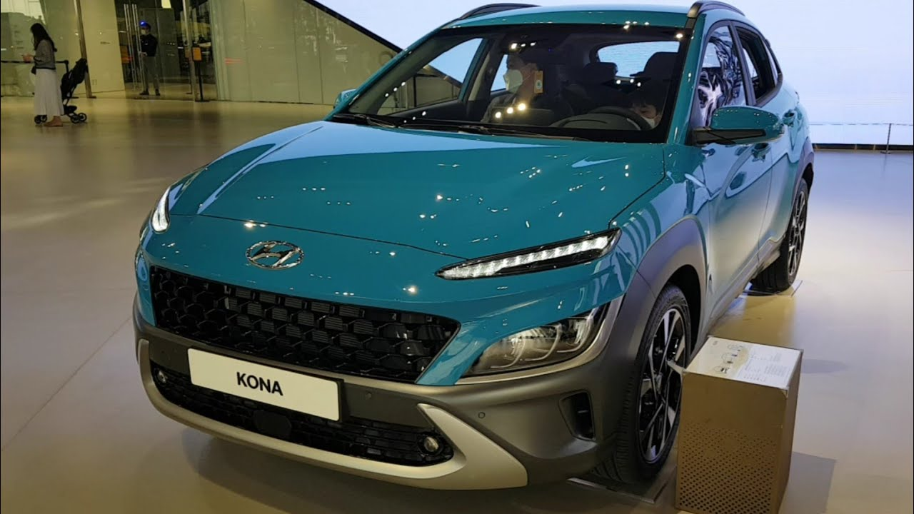 review: 2021 hyundai kona!! facelifted sporty, youthful