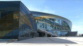 Грандиозное шоу состоялось на ледовой арене, построенной к Универсиаде 2017 (04.07.16)