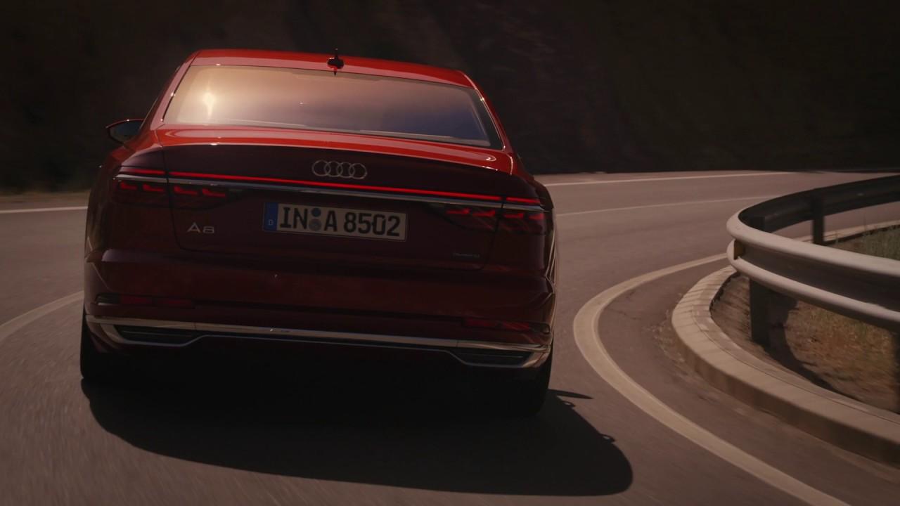 Otosaigon – Audi A8 2018 hoàn toàn mới vừa ra mắt cách đây vài giờ tại Barcelona