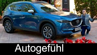 Mazda CX-5 FULL REVIEW test driven all-new neu SUV 2017/2018 - Autogefühl