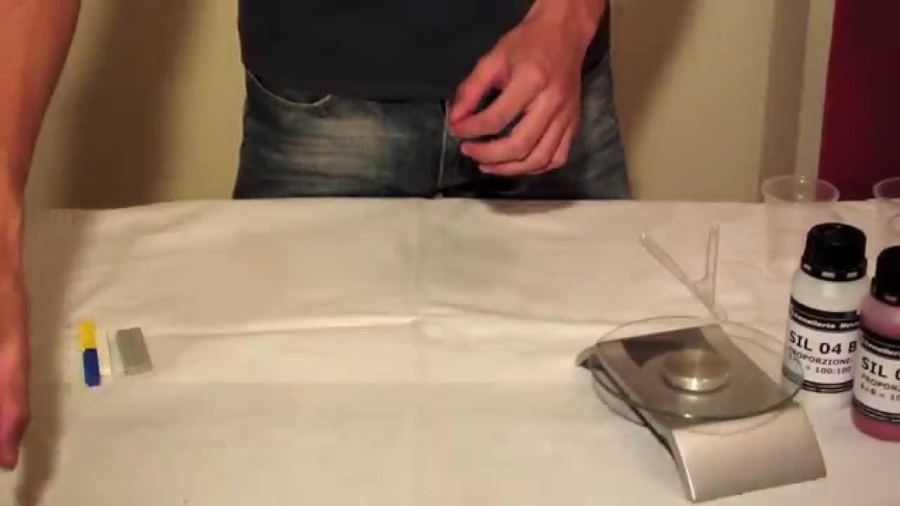 Silicone Morbido Per Stampi Tutorial Youtube