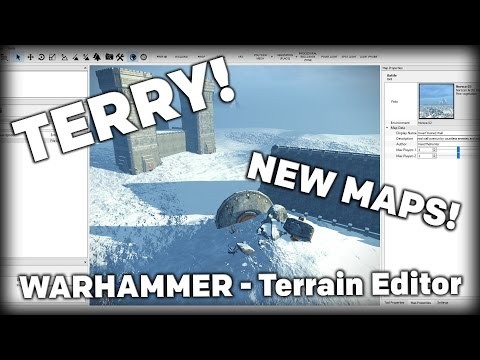 Overview and Introduction on TERRY! Terrain Editor Beta TW: WARHAMMER