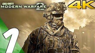 Call of Duty Modern Warfare 2 - Gameplay Walkthrough Part 1 - Prologue [4K 60FPS]