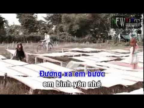 [Karaoke]Bình Yên-Quang hà Beat.FLV