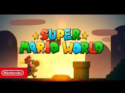SUPER MARIO WORLD HD NINTENDO SWITCH TRAILER GAMEPLAY