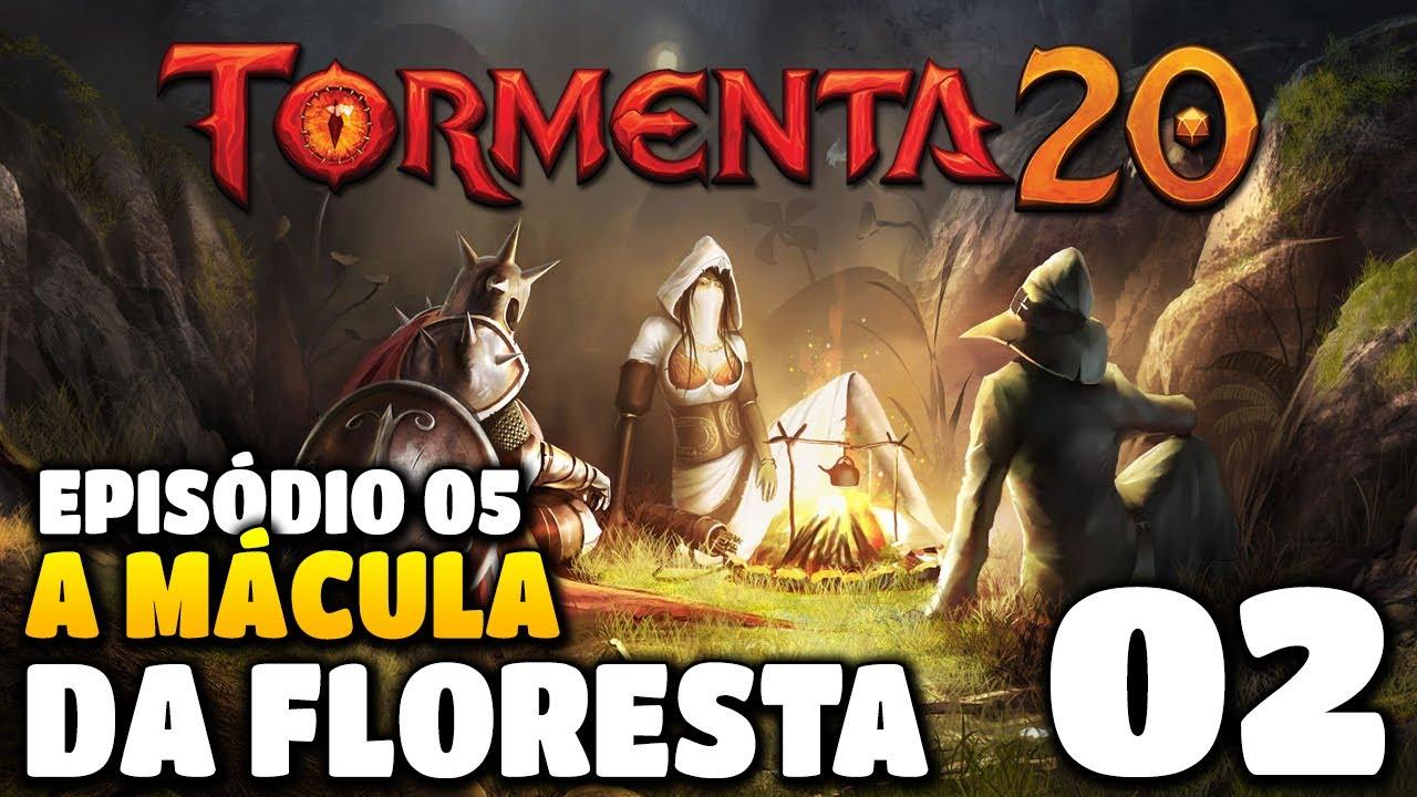 TORMENTA 20: A Mácula da Floresta #02 - RPG de Mesa Online em Português PT BR