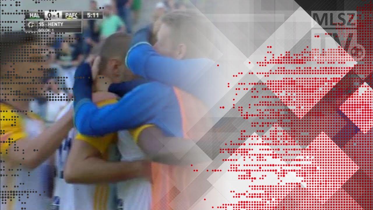 Henty Ezekiel Isoken első gólja a Swietelsky Haladás - Puskás Akadémia FC mérkőzésen