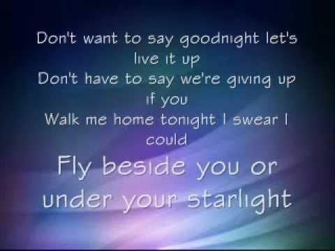 Tonight Alive - Starlight Lyrics