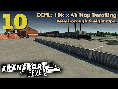 [TpF] ECML 10k x 4k Map Detailing: Peterborough Freight Operations