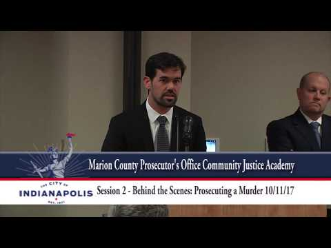 Marion County Prosecutor's Office Community Justice Academy