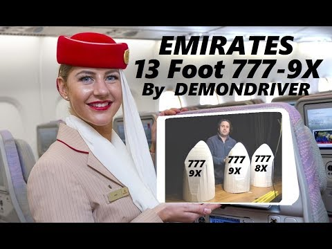 Emirates 777-9X RC Airplane Airliner Build Part-2